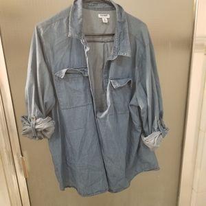 3/$10 Old Navy Denim Shirt